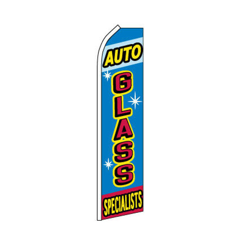 Auto Glass Specialist Swooper Flag