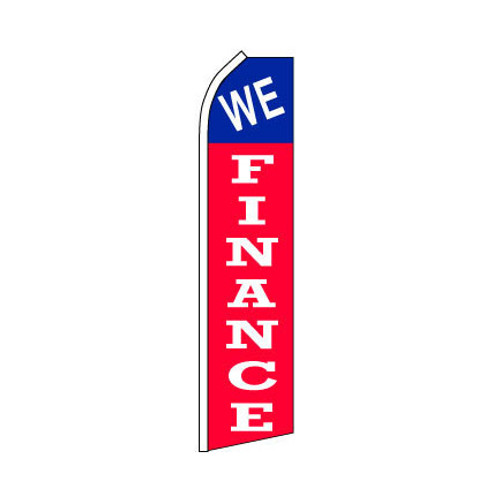 We Finanace Swooper Flag