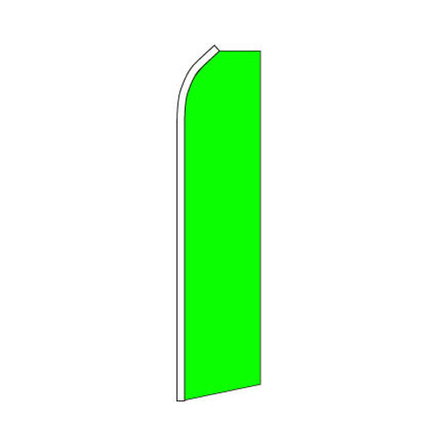 Neon Green Swooper Flag