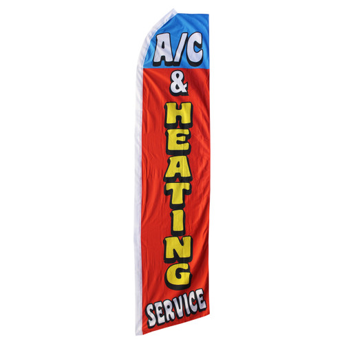 A/C & Heating Services Swooper Flag