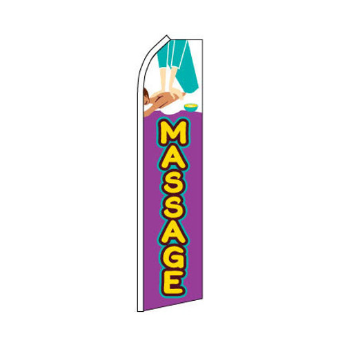 Massage Swooper Flag