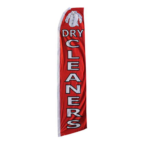 Dry Cleaners Swooper Flag