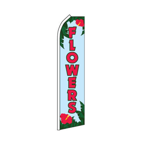 Flowers Swooper Flag