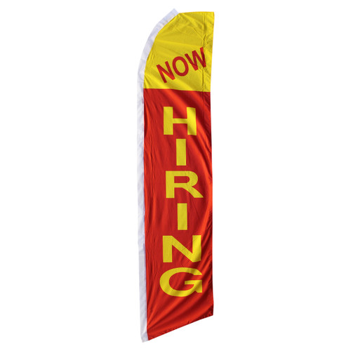 Now Hiring Swooper Flag