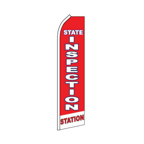 State Inspection Swooper Flag