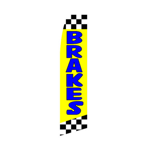 Brakes Swooper Flag - Yellow