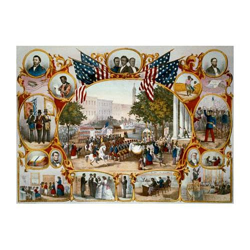 The Fifteenth Amendment. Celebrated May 19th, 1870 Poster Art - Downloadable Image