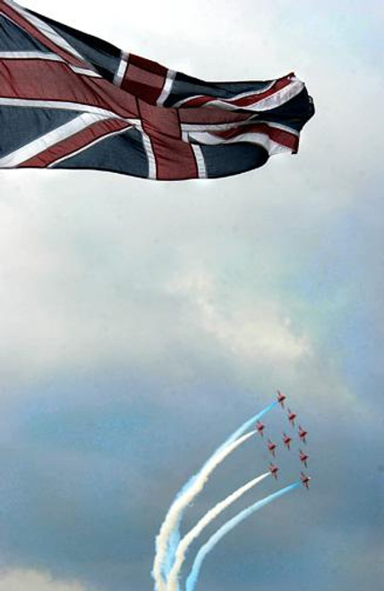British Red Arrows Aerial Demonstration Team - Downloadable Image