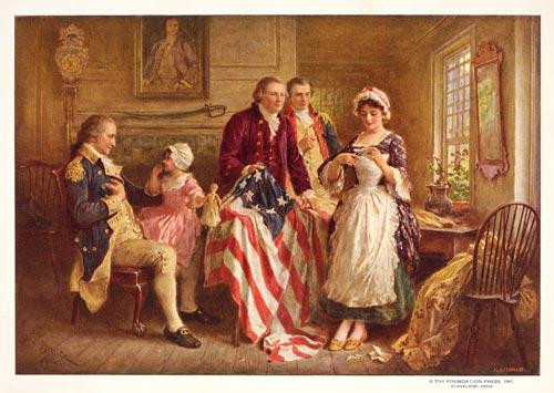 Betsy Ross 1777 - Downloadable Image