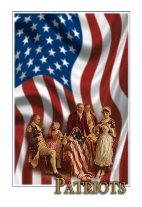 Betsy Ross Graphic Illustration - Downloadable Image
