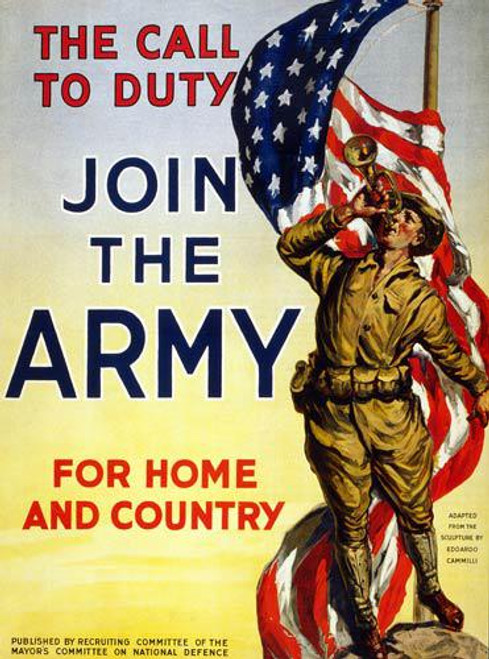 Call to Duty (WW I Poster) - Downloadable Image