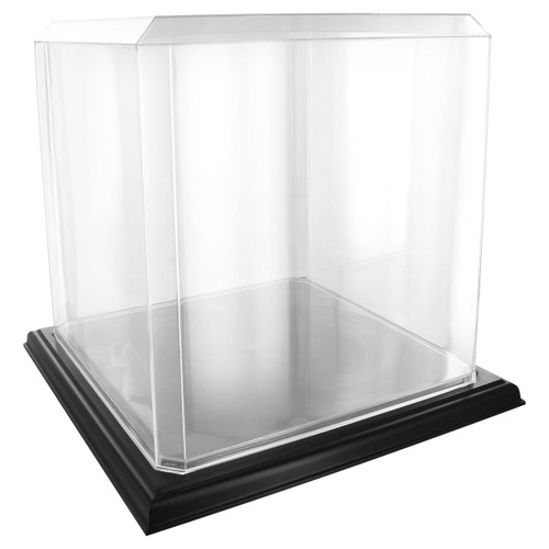 Acrylic Basketball Display Case - Black Base