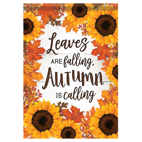 Carson Autumn Garden Flag - Autumn Is Calling