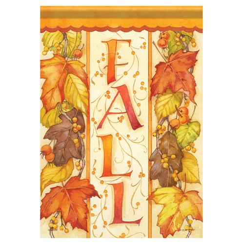 Carson Fall Garden Flag - Leaves Of Fall