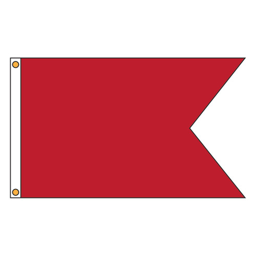 Custom Guidon Flag 10in x 15in Nylon