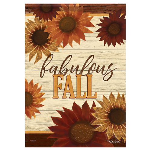 Carson Fall Banner Flag - Fabulous Fall Floral