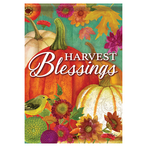 Carson Fall Banner Flag - Pumpkin Harvest Blessings