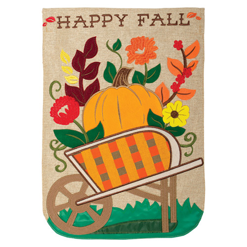 Carson Fall Garden Flag - Autumn Wagon