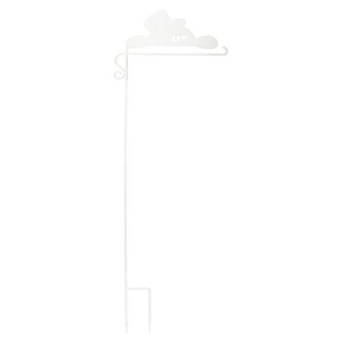 Carson Garden Flagpole - Snowman Garden Stake