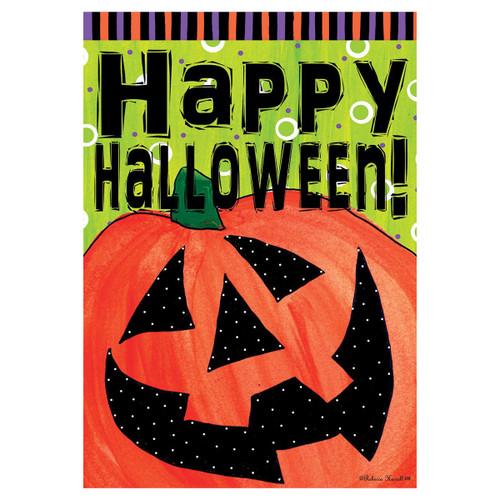 Halloween Banner Flag - Happy Jack