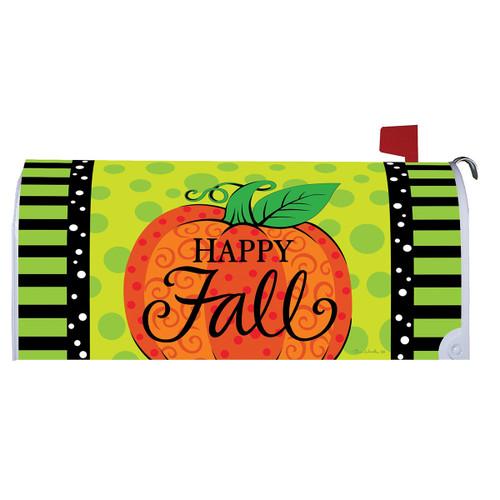 Fall Mailbox Cover - Whimsy Pumpkin