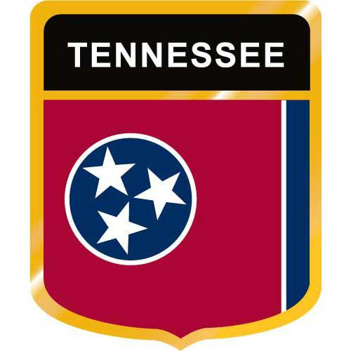 Tennessee Flag Crest Clip Art - Downloadable Image