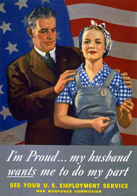 I'm Proud...My Husband Wants Me To Do My Part - Downloadable Image