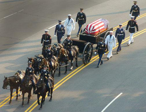 President Ronald Reagan Funeral Procession - Downloadable Image