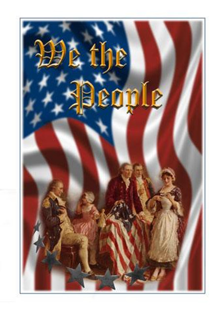 Betsy Ross Graphic - We the People - Downloadable Image