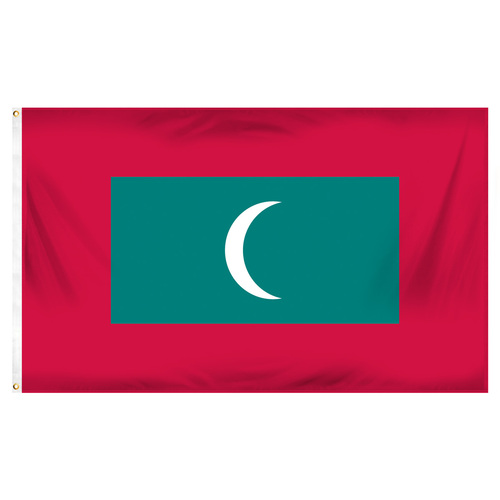 Maldives Flag 3ft x 5ft Printed Polyester