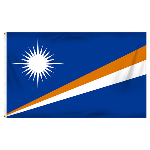 Marshall Islands Flag 3ft x 5ft Printed Polyester
