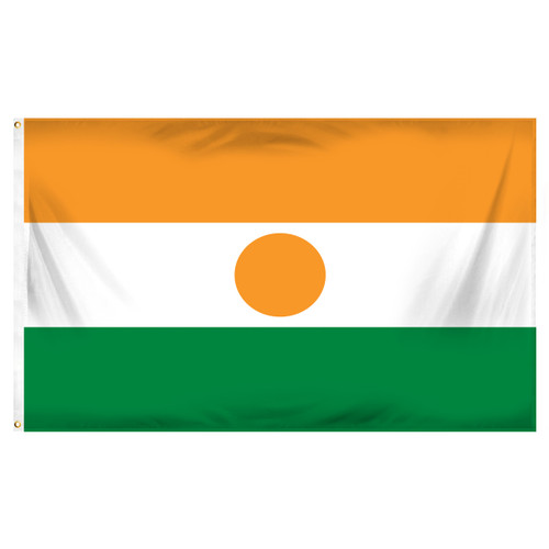 Niger Flag 3ft x 5ft Printed Polyester