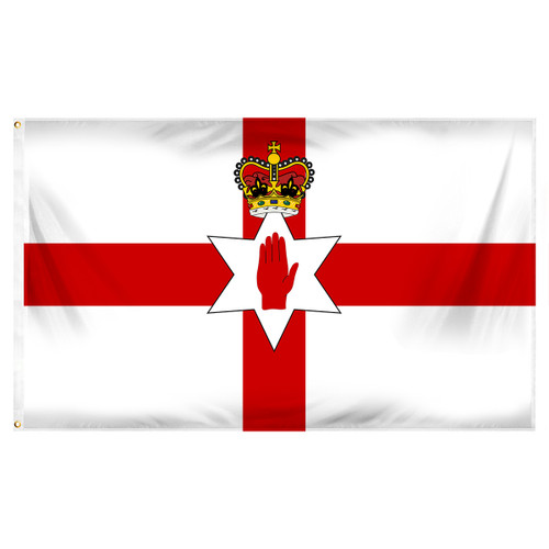 Northern Ireland Flag 3ft x 5ft Printed Polyester