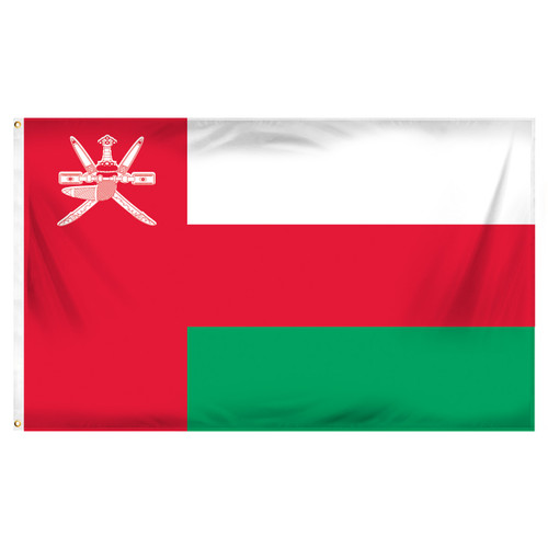 Oman Flag 3ft x 5ft Printed Polyester