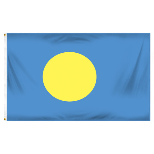 Palau Flag 3ft x 5ft Printed Polyester
