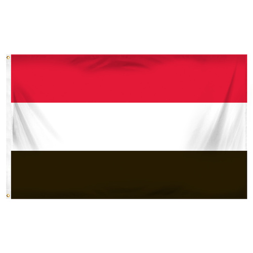 Yemen Flag 3ft x 5ft Printed Polyester