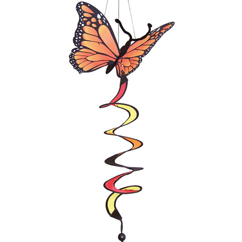 Monarch Butterfly Theme Twister - 30""