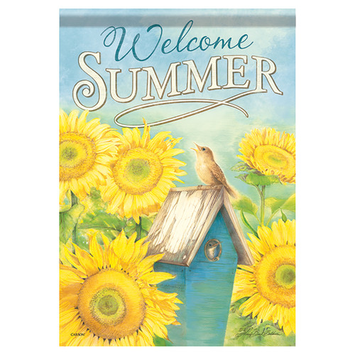 Summer Banner Flag - Summer Song