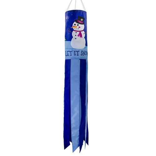 Let it Snow Windsock - 40""