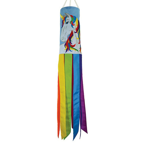 Unicorn Windsock - 40""