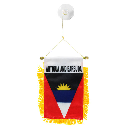 Antigua & Barbuda Mini Window Banner