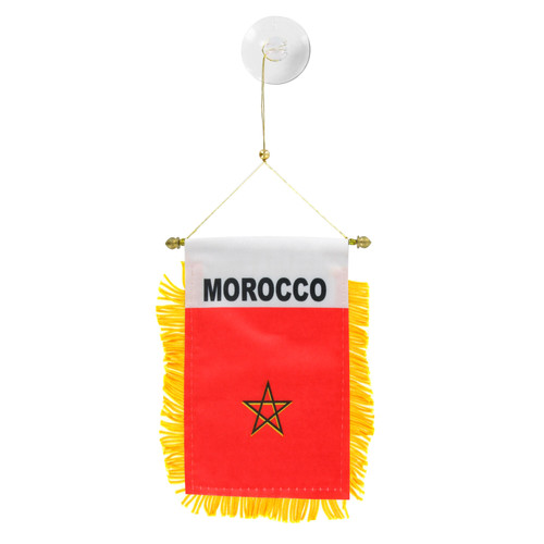 Morocco Mini Window Banner