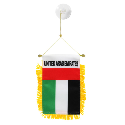 United Arab Emirates Mini Window Banner