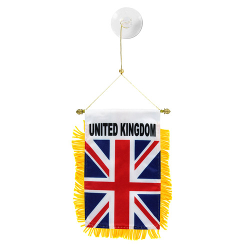 United Kingdom Mini Window Banner