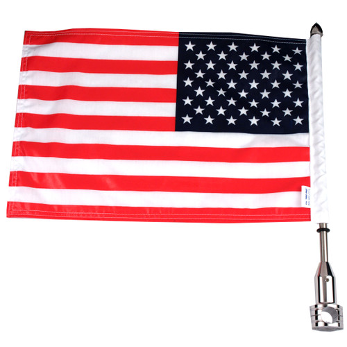 Parade Fixed Motorcycle Flag Mount - 3/4""