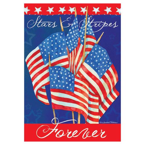 Patriotic Banner Flag - Waving Flags