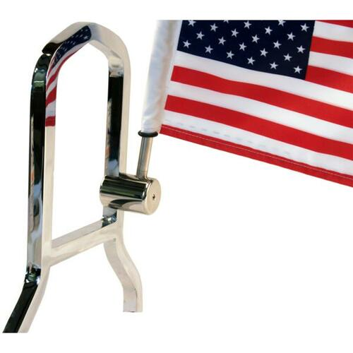 Rear Square Motorcycle Flag Holder