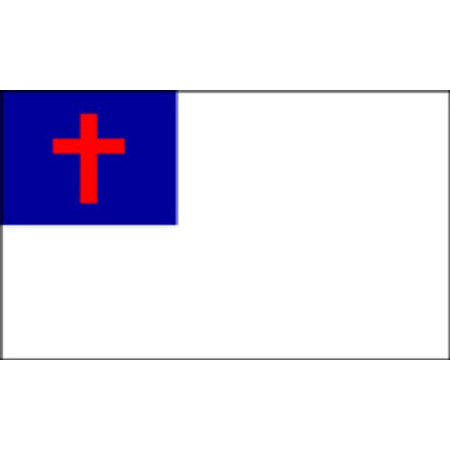 "Christian Motorcycle Flag - 6"" x 9"""