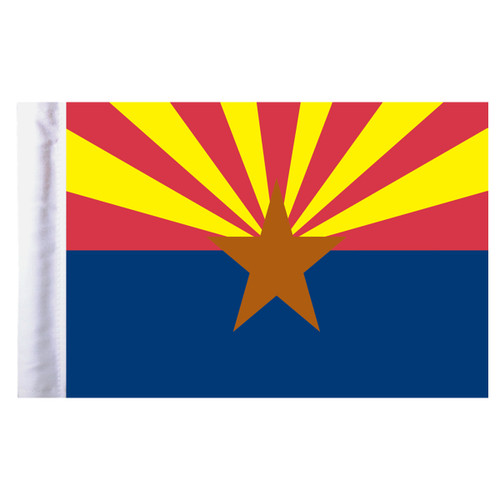 "Arizona Motorcycle Flag - 6"" x 9"""