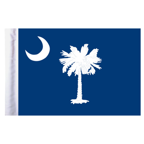 "South Carolina Motorcycle Flag - 6"" x 9"""